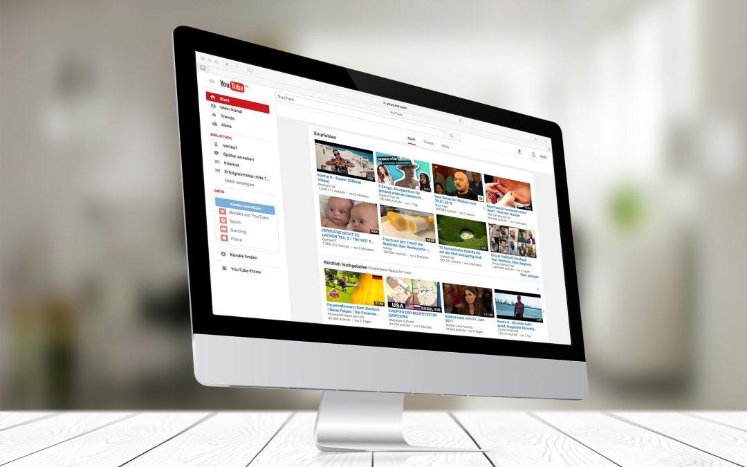 Copertina articolo creare un canale YouTube