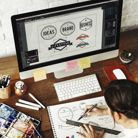 Ideazione e creazione loghi aziendali e personali