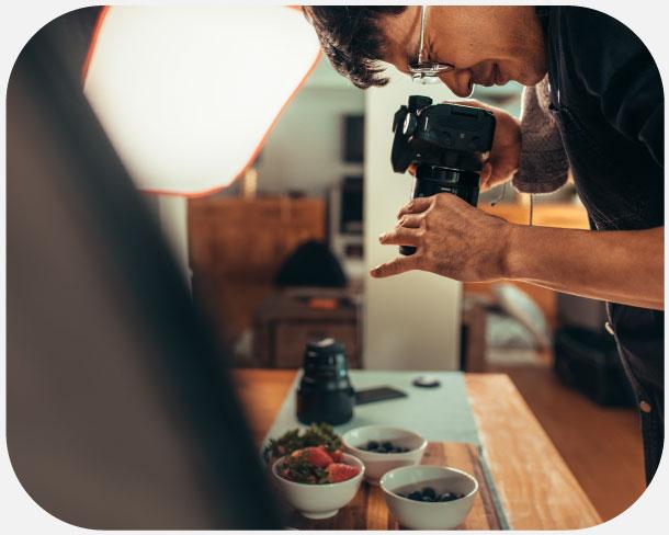 Servizio di creazione foto e immagini