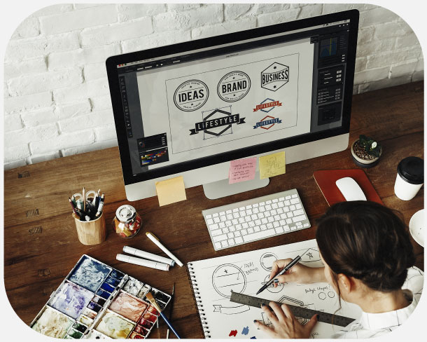 Servizio creativo di loghi e brand